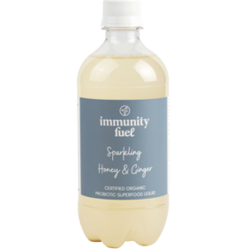 Sparkling Honey & Ginger Probiotic Drink 500ml 40% Off!